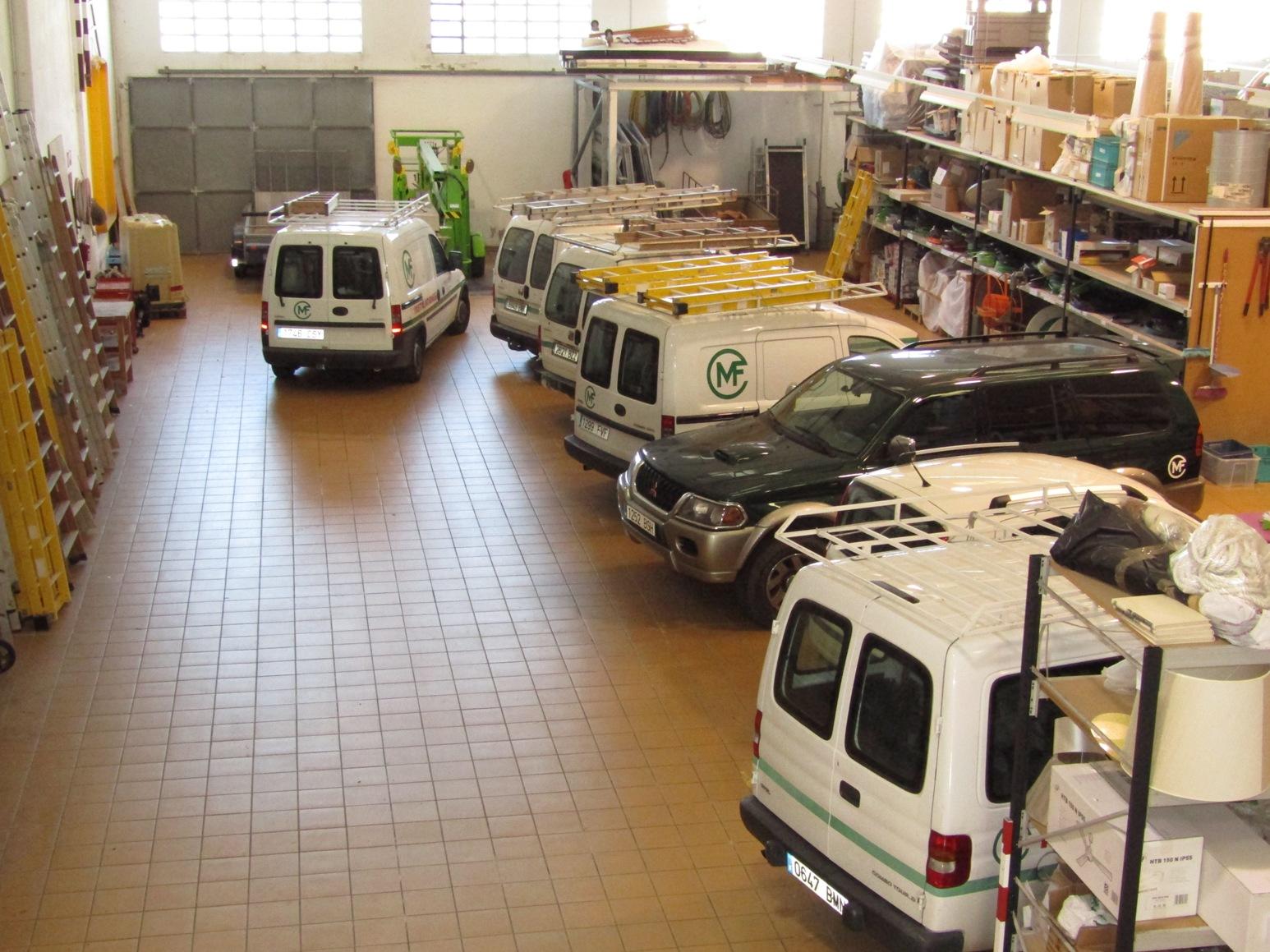 Nuestra flota de vehículos